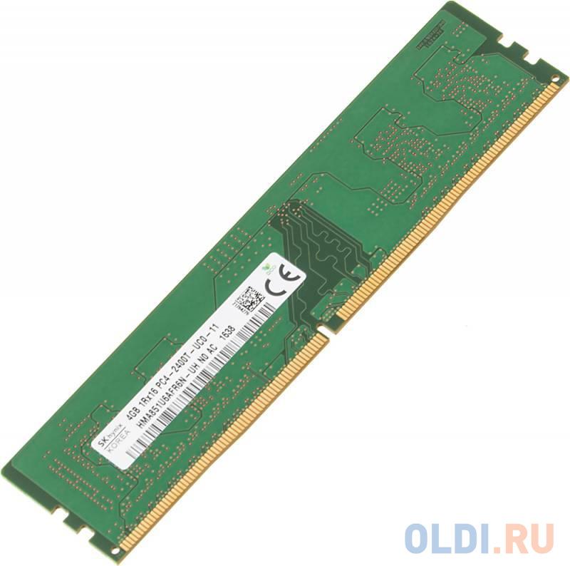 Оперативная память 4Gb (1x4Gb) PC4-19200 2133MHz DDR4 DIMM CL17 Hynix HMA851U6AFR6N-UHN0.