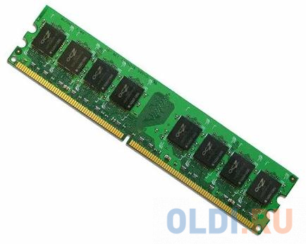 Оперативная память для компьютера OCZ OCZ2V8001G DIMM 1Gb DDR2 800MHz