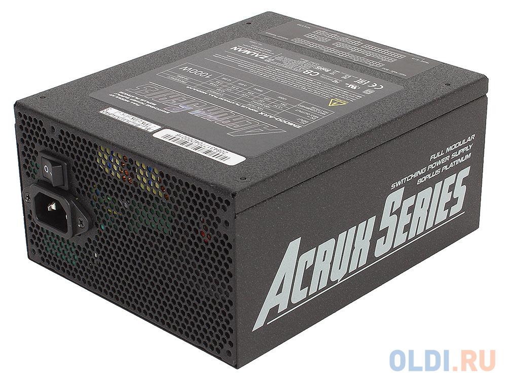 Блок питания ATX 1000 Вт Zalman ZM1000-ARX блок питания 1000w zalman zm1000 ebt