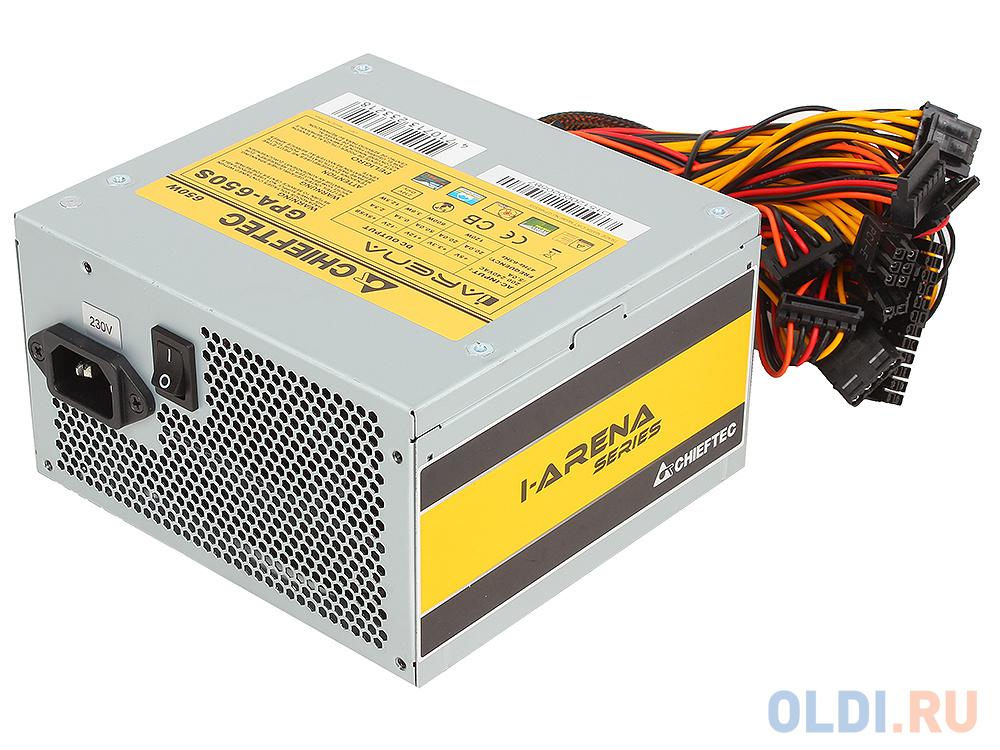бп atx 450 вт chieftec gpa 450s8 Блок питания Chieftec GPA-650S 650 Вт