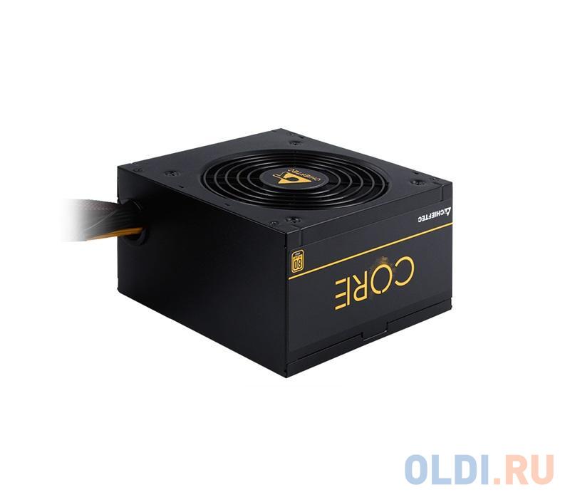 Блок питания Chieftec 500W Retail BBS-500S [CORE] , 80+ GOLD, ATX12V2.3, A.PFC, 8 PIN EPS (4+4) x1, 8 PIN PCIe (6+2) x1, SATA x4, MOLEX x3, FLOPPY