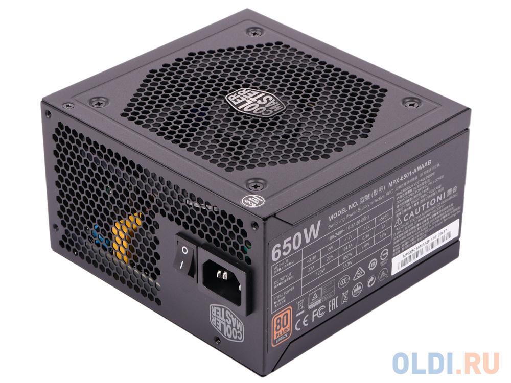 Фото - Cooler Master MasterWatt PSU 650W блок питания dell power supply 1 psu 350w hot swap kit for poweredge r330 r320