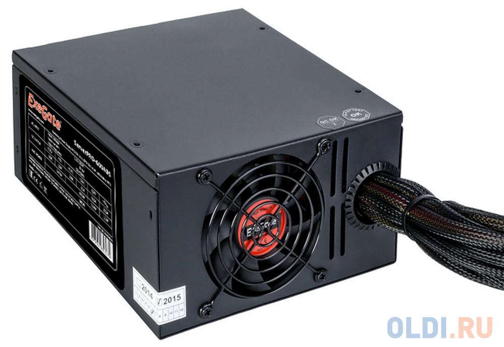Блок питания ATX 600 Вт Exegate RM-600ADS ServerPRO EX174459RUS блок питания atx 600 вт exegate atx 600npx