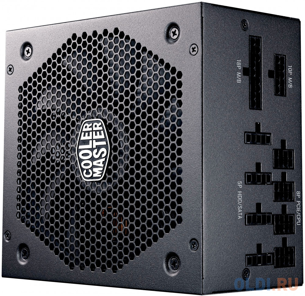 Фото - Power Supply Cooler Master V750 Gold, 750W, ATX, 140mm, 12xSATA, 4xPCI-E(6+2), APFC, 80+ Gold блок питания huawei 750w platinum power module w750p0000 02131058