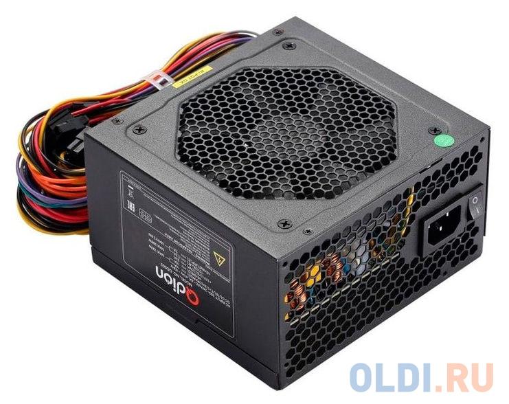 Блок питания FSP ATX 600W Q-DION QD600-PNR 80+ (24+4+4pin) PPFC 120mm fan 6xSATA блок питания fsp atx 600w q dion qd600 pnr 80