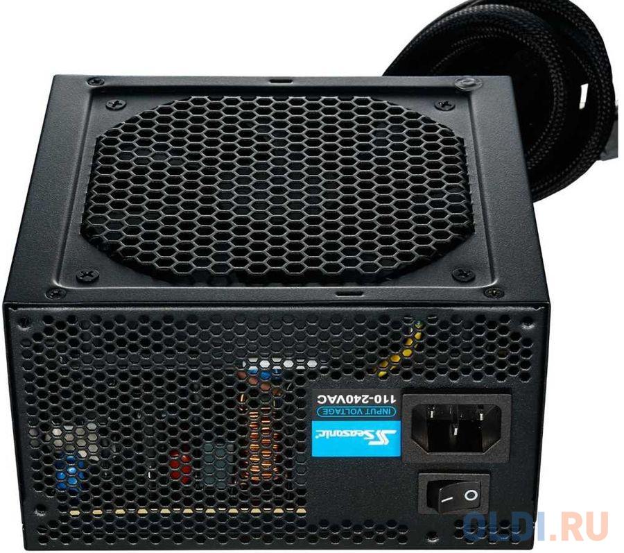 Фото - Блок питания Seasonic ATX 550W S12III-550 (SSR-550GB3) 80+ bronze (24+4+4pin) APFC 120mm fan 6xSATA Cab Manag RTL память ddr4 4x16gb 3600mhz corsair cmk64gx4m4b3600c18 rtl pc4 28800 cl18 dimm 288 pin 1 35в