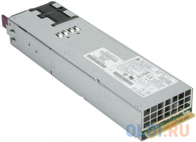 Фото - Блок питания Supermicro PWS-1K66P-1R 1600W 1U блок питания supermicro pws 865 pq 865w