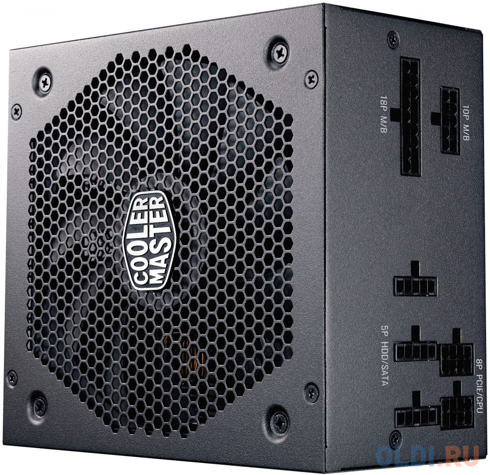 Фото - Блок питания ATX 550 Вт Cooler Master V550 Gold MPY-5501-AFAAGV-EU блок питания atx 1000 вт super flower leadex ii gold