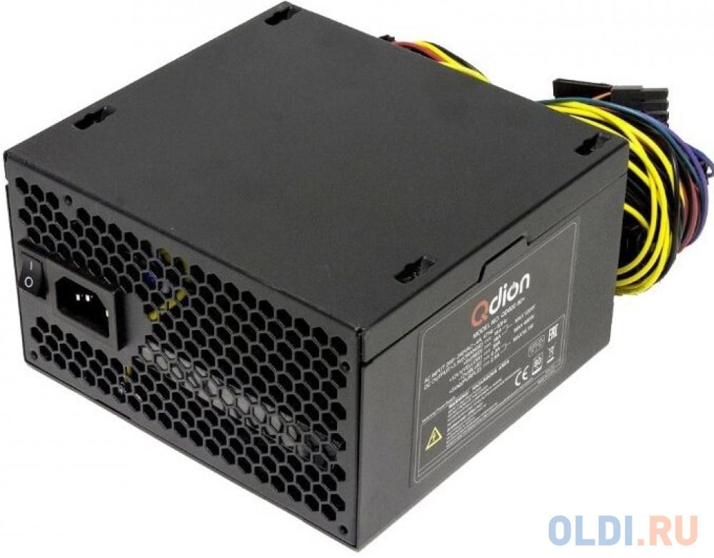Фото - Power Supply FSP QDION ATX 550W, 120mm, 5xSATA, 2xPCI-E, APFC, 80+ материнская плата asrock z370 pro4 socket 1151 v2 z370 4xddr4 2xpci e 16x 3xpci e 1x 6 atx retail