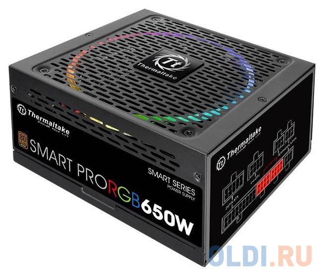 Блок питания ATX 650 Вт Thermaltake Smart Pro RGB PS-SPR-0650FPCBEU-R