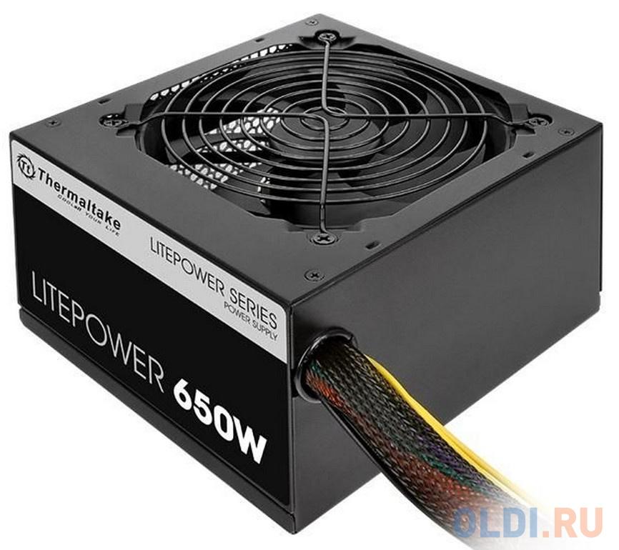 Блок питания ATX 650 Вт Thermaltake Litepower 650W chieftec блок питания 650w smart atx 12v v 2 черный