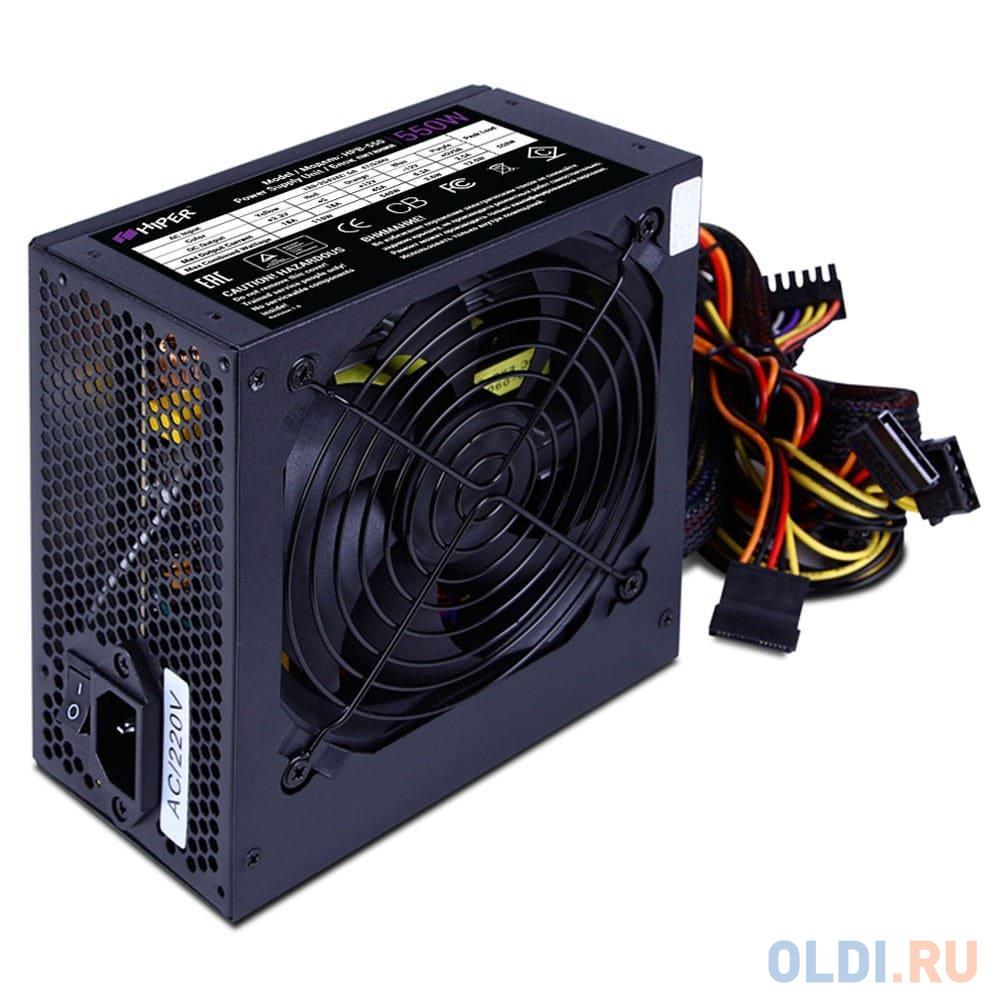 Фото - Блок питания ATX 550 Вт HIPER HPB-550 блок питания hiper hpb 750rgb 750w