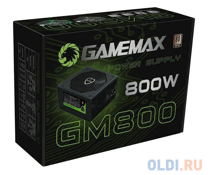 Картинка для Блок питания GameMax GM-800 800 Вт