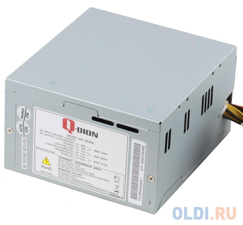 Фото - Блок питания FSP Q-Dion QD-450 450 Вт бп atx 450 вт fsp q dion qd 450 9pa400a401