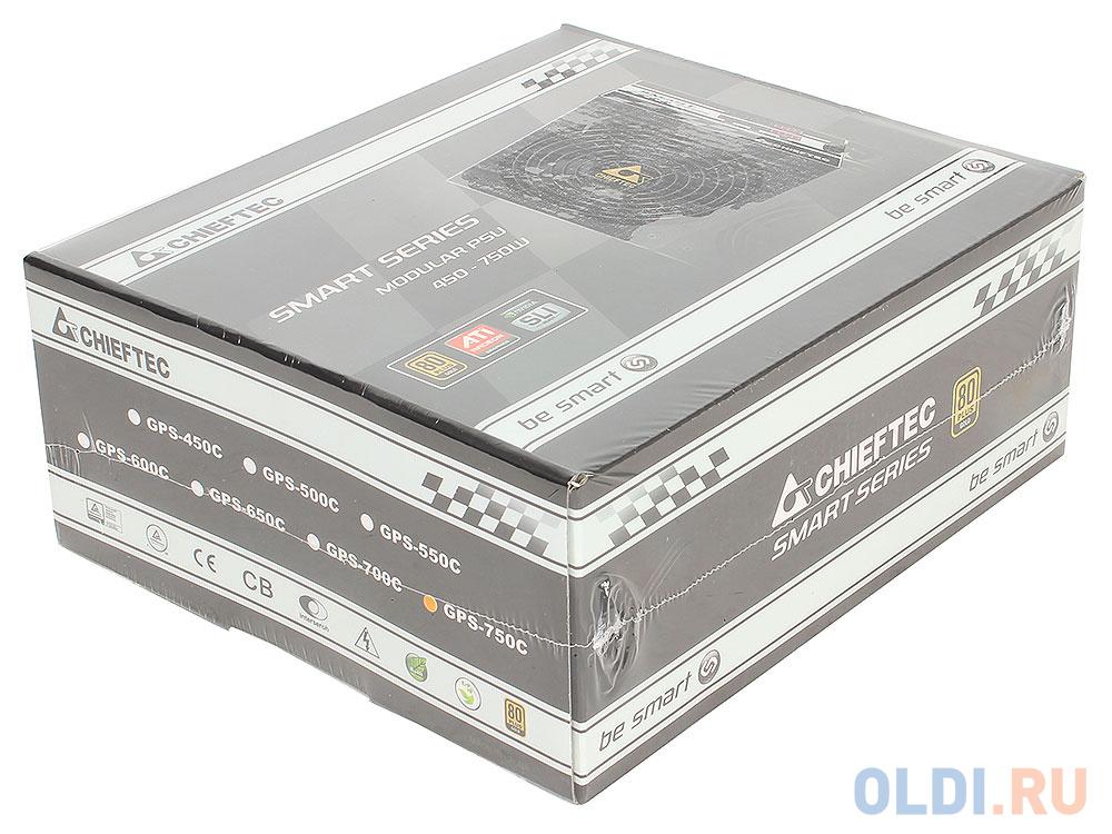 Блок питания Chieftec GPS-750C 750 Вт