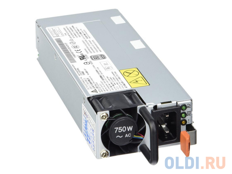 Фото - Блок питания Lenovo 00FK932 SystemX 750W (1 PSU) Hot Swap High Efficiency Platinum Redundant Power Supply for x3650 M5 блок питания huawei 750w platinum power module w750p0000 02131058