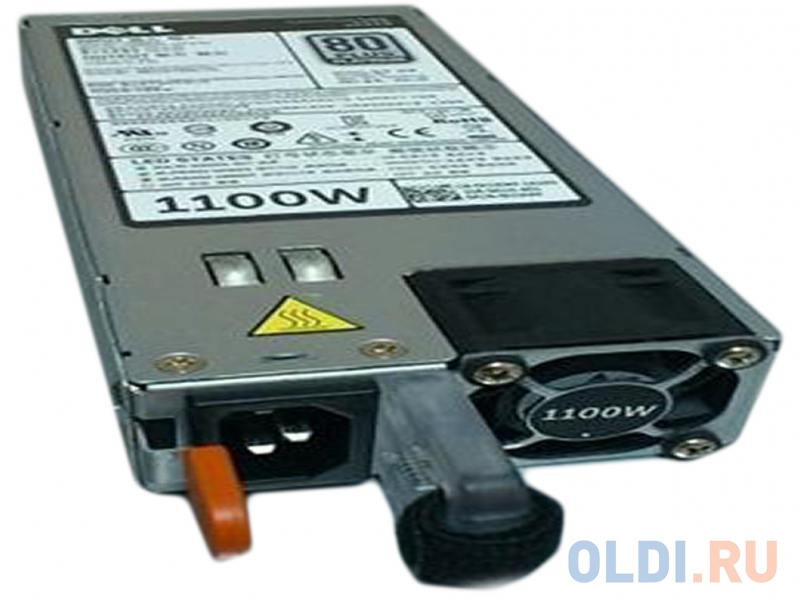 Фото - Блок питания Dell Power Supply (1 PSU) 1100W Platinum Hot Swap for PowerEdge Gen 13, 450-AEBL блок питания huawei 750w platinum power module w750p0000 02131058