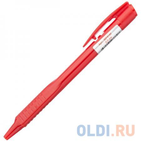 Ручка шариковая автоматическая с трехгранным корпусом