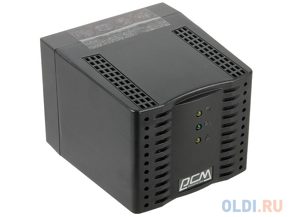 Стабилизатор напряжения Powercom TCA-1200 Black (4 EURO)