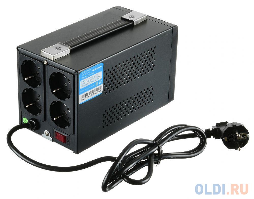 Стабилизатор напряжения Ippon AVR-1000 (4 EURO)