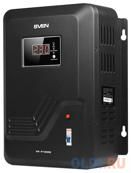 Стабилизатор напряжения Sven VR-P10000 черный