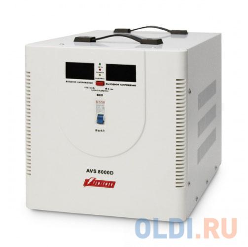 Стабилизатор напряжения Powerman AVS 8000D стабилизатор powerman avs 1500 d