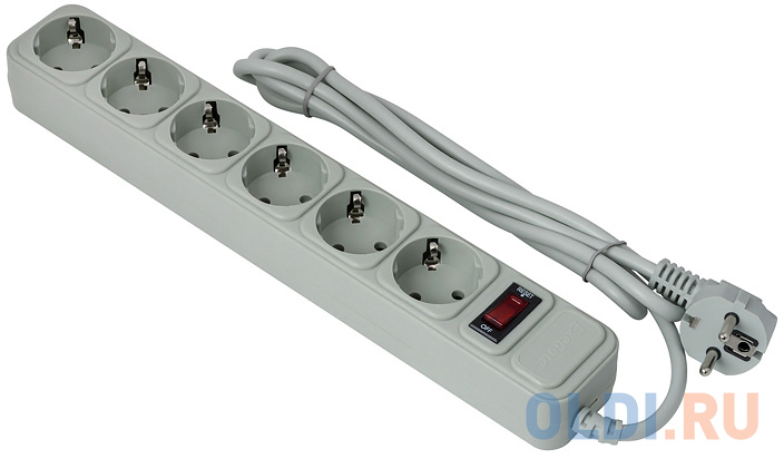 Сетевой фильтр Exegate SP-6-1.5G 6 розеток 1.5 м EX266865RUS.