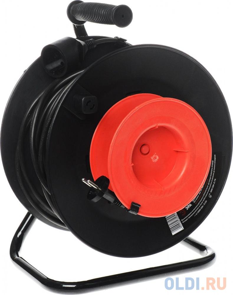 Удлинитель Эра RP-1-2x0.75-40m 1 розетка 40 м черный B0001678