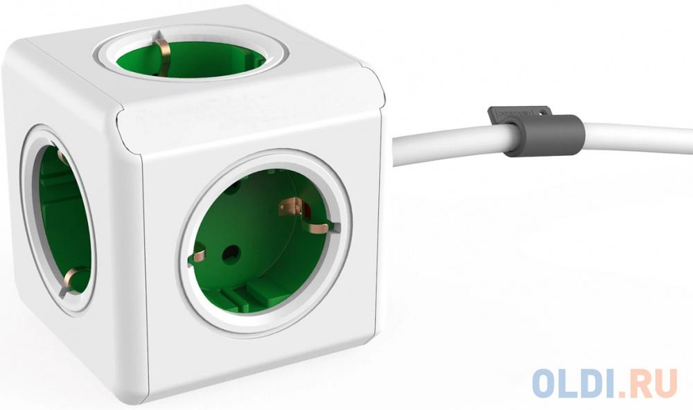 Фото - Разветвитель Allocacoc Extended 5 розеток 1.5 м разветвитель allocacoc powercube extended usb серый