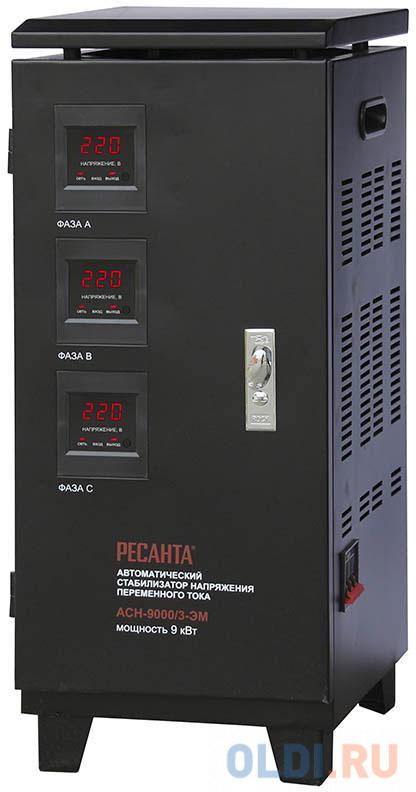 Стабилизатор напряжения Ресанта АСН-9000/3-ЭМ
