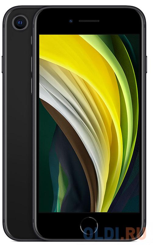Смартфон Apple iPhone SE 2020 черный 4.7