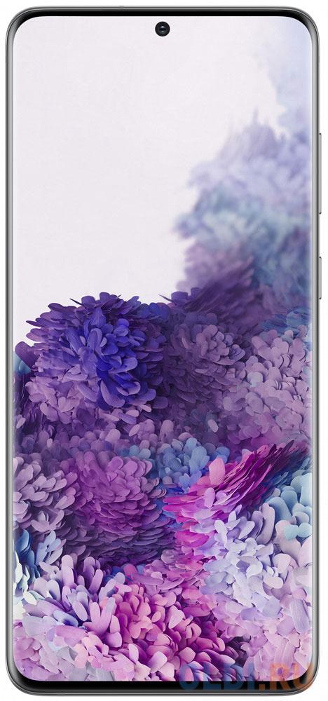Смартфон Samsung Galaxy S20+ серый 6.7 128 Гб NFC LTE Wi-Fi GPS 3G Bluetooth SM-G985FZADSER смартфон samsung galaxy a30s белый 6 4 32 гб nfc lte wi fi gps 3g bluetooth sm a307fzwuser