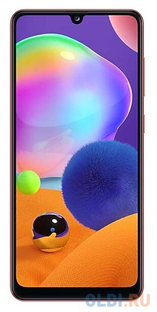 "Смартфон Samsung Galaxy A31 красный 6.4"" 128 Гб NFC LTE Wi-Fi GPS 3G Bluetooth SM-A315FZRVSER"