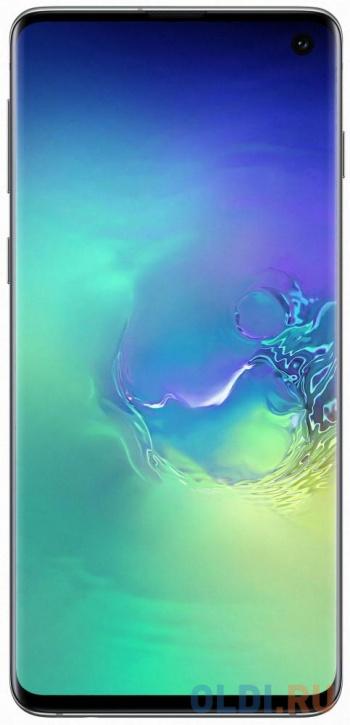 Смартфон Samsung Galaxy S10 аквамарин 6.1 128 Гб NFC LTE Wi-Fi GPS 3G Bluetooth SM-G973FZGDSER смартфон samsung galaxy s10 128 гб гранатовый sm g975fzrdser