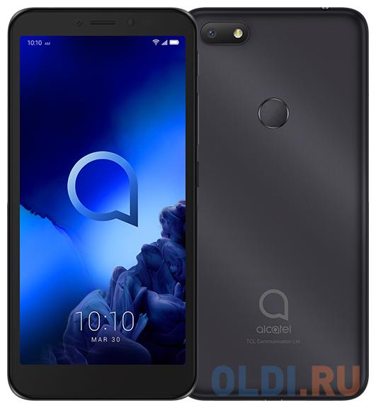 """Смартфон Alcatel 1V 5001D черный 5.5"""" 16 Гб LTE Wi-Fi GPS 3G Bluetooth 5001D-2AALRU1"""