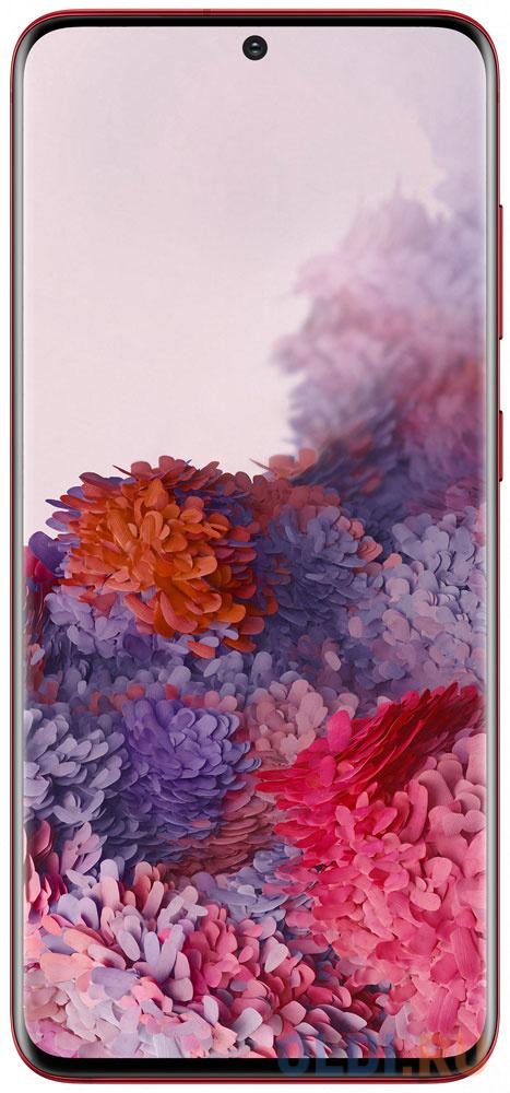 Смартфон Samsung Galaxy S20 красный 6.2 128 Гб NFC LTE Wi-Fi GPS 3G Bluetooth SM-G980FZRDSER samsung sep 5001rdp wi fi