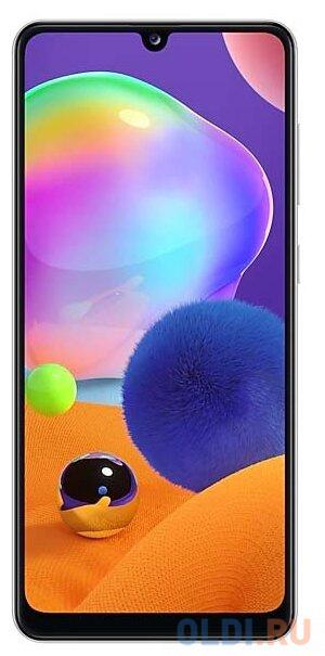 "Смартфон Samsung Galaxy A31 белый 6.4"" 128 Гб NFC LTE Wi-Fi GPS 3G Bluetooth"