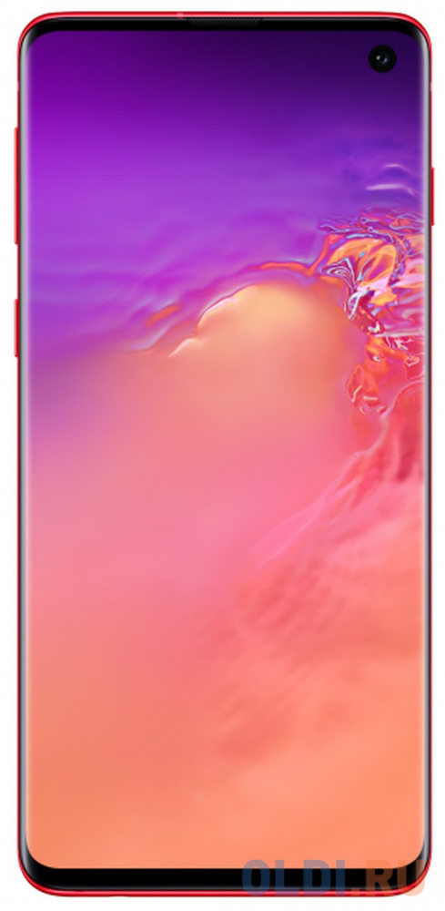 Смартфон Samsung Galaxy S10 гранатовый 6.1 128 Гб NFC LTE Wi-Fi GPS 3G Bluetooth SM-G973FZRDSER смартфон samsung galaxy s10 128 гб гранатовый sm g975fzrdser