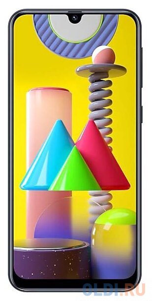 Смартфон Samsung Galaxy M31 черный 6.4 128 Гб NFC LTE Wi-Fi GPS 3G Bluetooth SM-M315FZKVSER смартфон samsung galaxy s10 128 гб гранатовый sm g975fzrdser