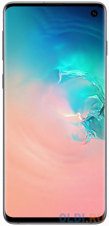 Смартфон Samsung Galaxy S10 перламутровый 6.1 128 Гб NFC LTE Wi-Fi GPS 3G Bluetooth SM-G973FZWDSER смартфон samsung galaxy s10 128 гб гранатовый sm g975fzrdser