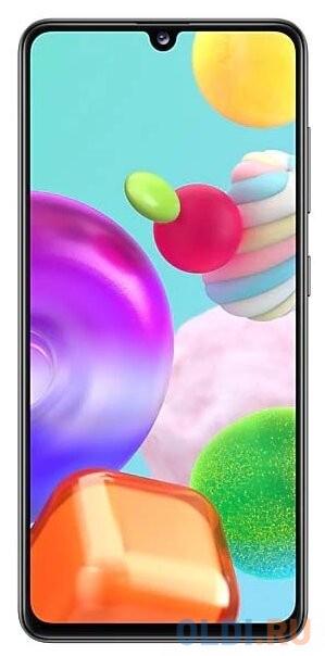 Смартфон Samsung Galaxy A41 черный 6.1 64 Гб NFC LTE Wi-Fi GPS 3G Bluetooth SM-A415FZKMSER смартфон huawei nova 2 золотистый 5 64 гб lte wi fi gps 3g 51091tns