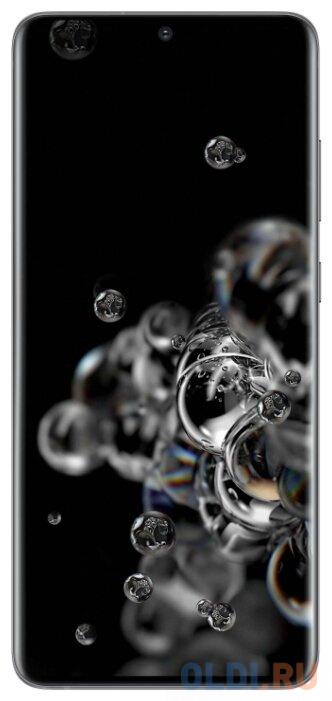 Смартфон Samsung Galaxy S20 Ultra серый 6.9 128 Гб NFC LTE Wi-Fi GPS 3G Bluetooth смартфон samsung galaxy a30s белый 6 4 32 гб nfc lte wi fi gps 3g bluetooth sm a307fzwuser
