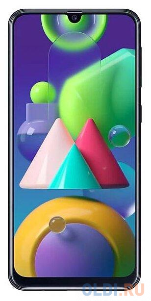 "Смартфон Samsung Galaxy M21 черный 6.4"" 64 Гб NFC LTE Wi-Fi GPS 3G Bluetooth SM-M215FZKUSER"