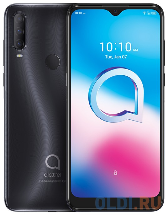 Смартфон Alcatel 3L 5029Y серый 6.22 64 Гб LTE Wi-Fi GPS 3G Bluetooth 5029Y-2AALRU12 смартфон huawei nova 2 золотистый 5 64 гб lte wi fi gps 3g 51091tns