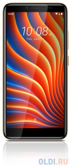 "Смартфон HTC Wildfire E золотистый 5.45"" 32 Гб LTE Wi-Fi GPS 3G Bluetooth"