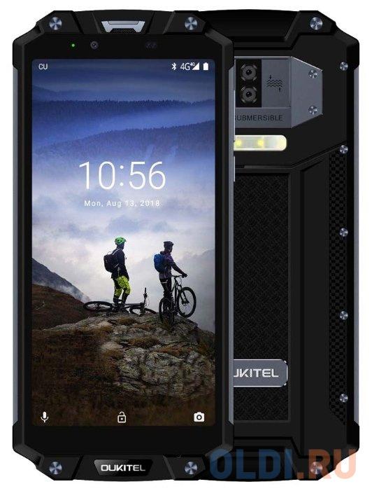Смартфон Oukitel WP2 черный 6 64 Гб NFC LTE Wi-Fi GPS 3G Bluetooth смартфон samsung galaxy a30s белый 6 4 32 гб nfc lte wi fi gps 3g bluetooth sm a307fzwuser