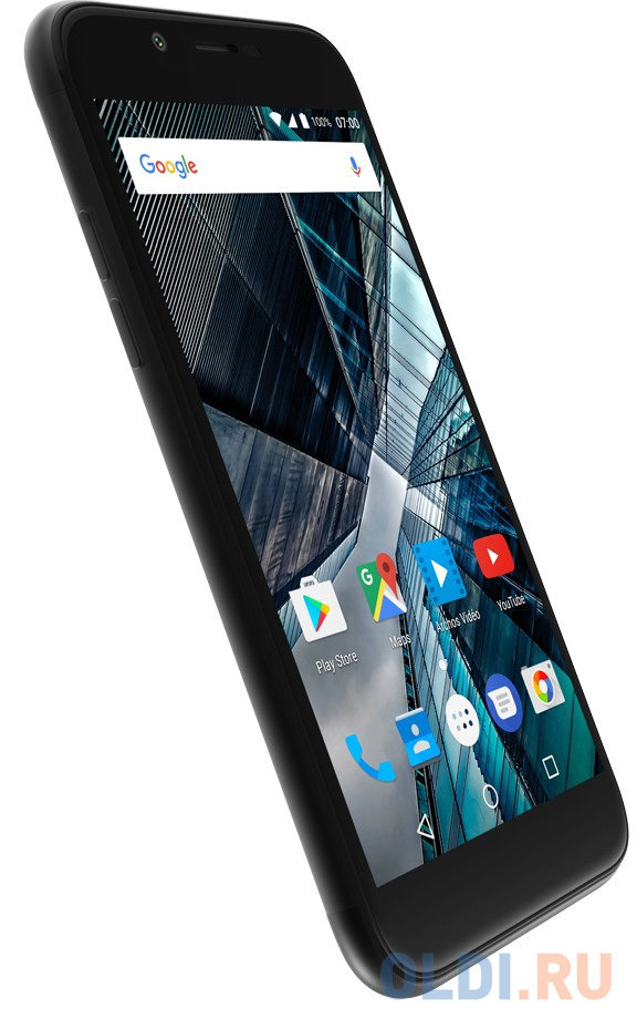 Смартфон ARCHOS Sense 50 DC черный 5 16 Гб LTE Wi-Fi GPS 3G 503437 смартфон huawei nova 2 золотистый 5 64 гб lte wi fi gps 3g 51091tns