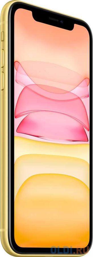 Смартфон Apple iPhone 11 желтый 6.1