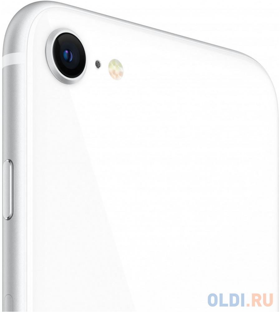 Смартфон Apple iPhone SE 2020 белый 4.7 64 Гб NFC LTE Wi-Fi GPS 3G MX9T2RU/A смартфон huawei nova 2 золотистый 5 64 гб lte wi fi gps 3g 51091tns