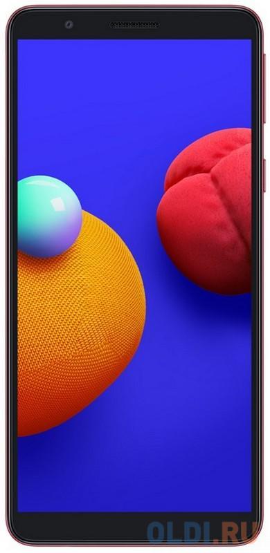 """Смартфон Samsung Galaxy A01 (2020) красный 5.7"""" 16 Гб LTE Wi-Fi GPS 3G Bluetooth SM-A013FZRDSER"""